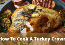 how to cook a turkey crown ?